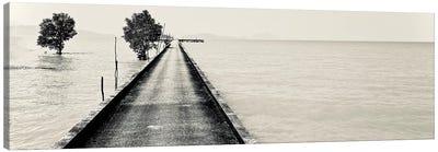 Black And White Pier Phuket, 2017  Canvas Art Print