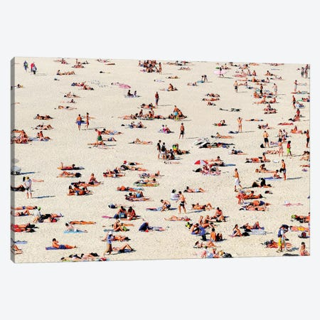 Bondi Bathers, 2016  Canvas Print #BMN8670} by SVP Images Art Print