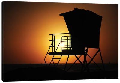 Lifeguard Sunset, 2013  Canvas Art Print