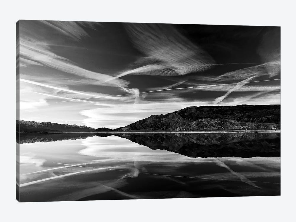 Owens lake reflection by SVP Images 1-piece Canvas Print
