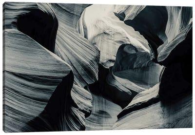 Slots Black and White, 2016  Canvas Art Print