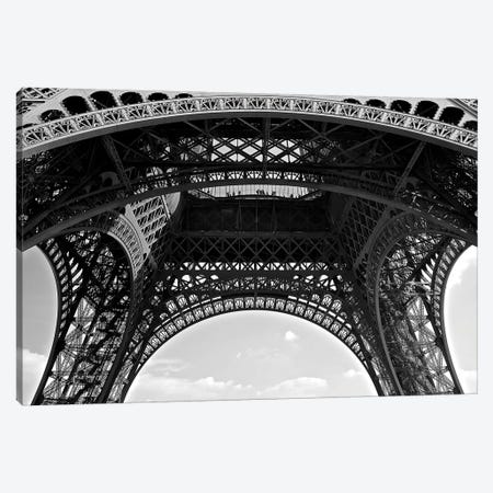 Under Eiffel, 2015  Canvas Print #BMN8695} by SVP Images Canvas Wall Art