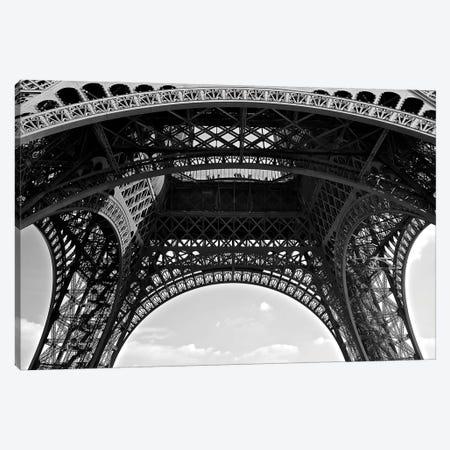 Under Eiffel, 2015  Canvas Print #BMN8695} by SVP Images Canvas Wall Art