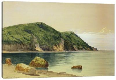Rocky Shore  Canvas Art Print