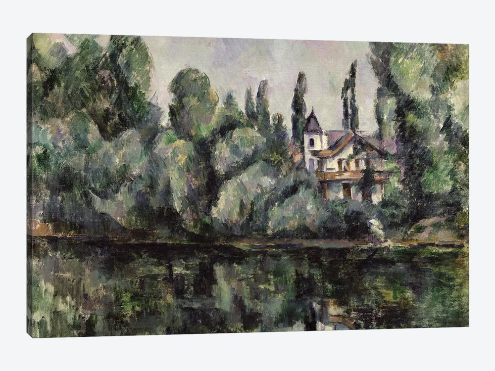 The Banks of the Marne, 1888  by Paul Cezanne 1-piece Canvas Wall Art