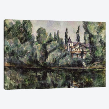 The Banks of the Marne, 1888  Canvas Print #BMN871} by Paul Cezanne Canvas Art Print