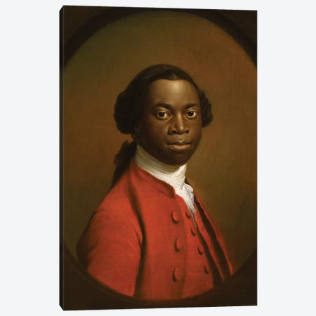 Portrait of an African, c.1758  Canvas Print #BMN8722} by Allan Ramsay Canvas Print