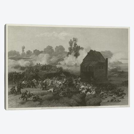Battle of Long Island, 1776  Canvas Print #BMN8725} by Alonzo Chappel Canvas Wall Art