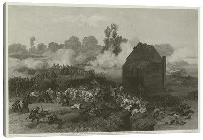 Battle of Long Island, 1776  Canvas Art Print