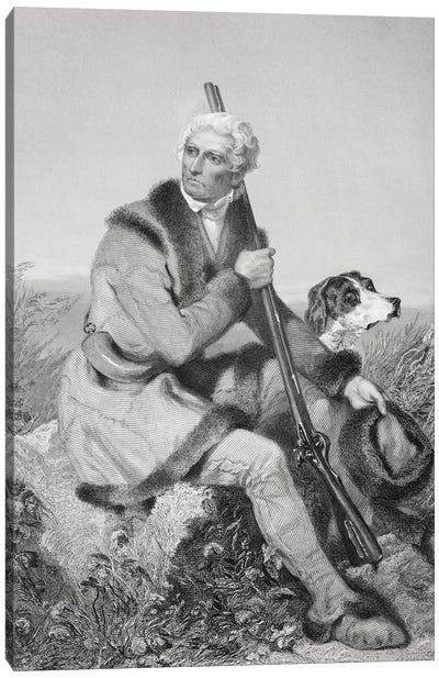 Portrait of Daniel Boone   Canvas Art Print