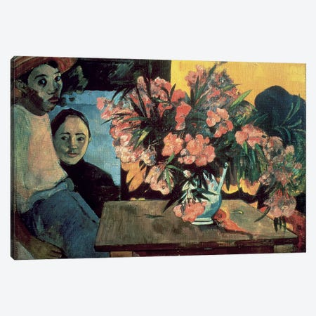Te Tiare Farani  Canvas Print #BMN872} by Paul Gauguin Art Print