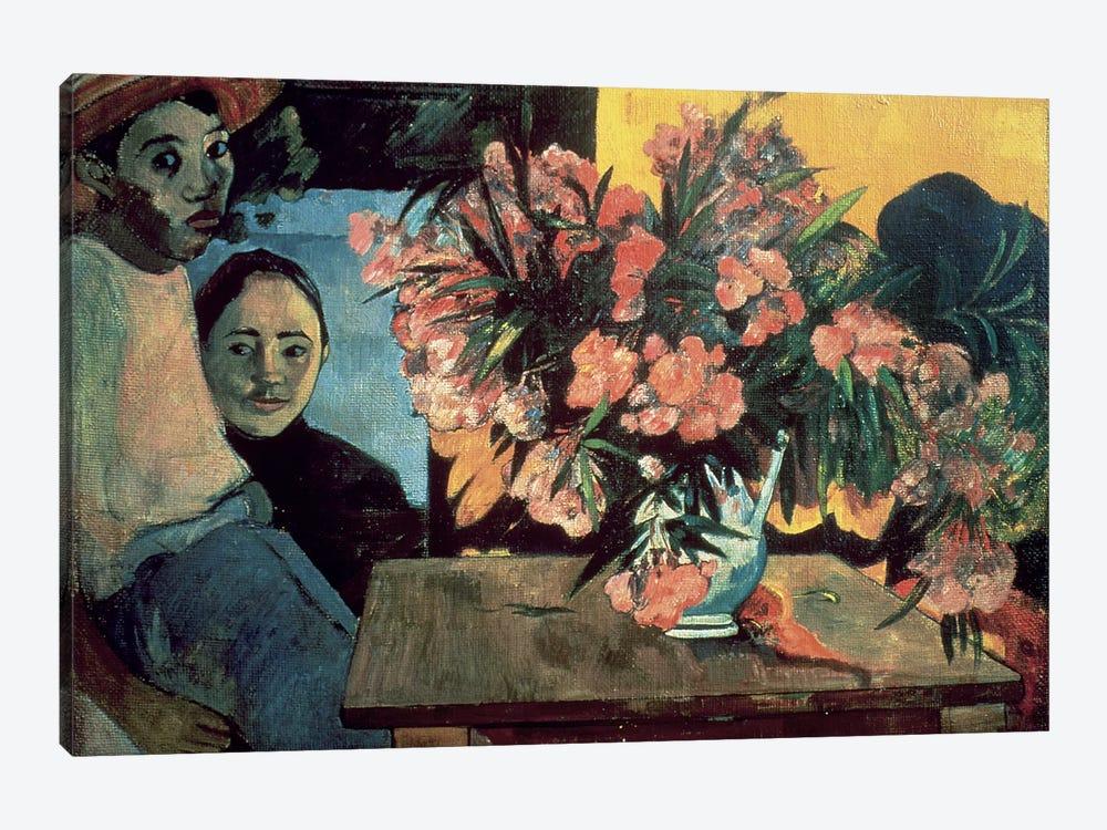 Te Tiare Farani  by Paul Gauguin 1-piece Art Print