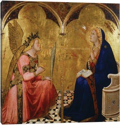 Annunciation, 1344,  Canvas Art Print