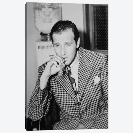 Benjamin 'Bugsy' Siegel  Canvas Print #BMN8738} by American Photographer Canvas Artwork