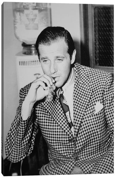 Benjamin 'Bugsy' Siegel  Canvas Art Print