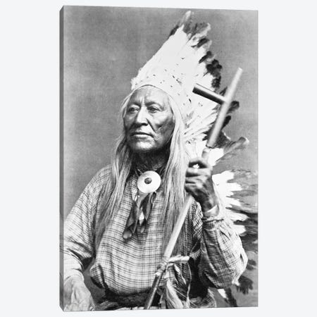 Chief Washakie   Canvas Print #BMN8740} by American Photographer Canvas Print