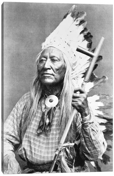 Chief Washakie   Canvas Art Print