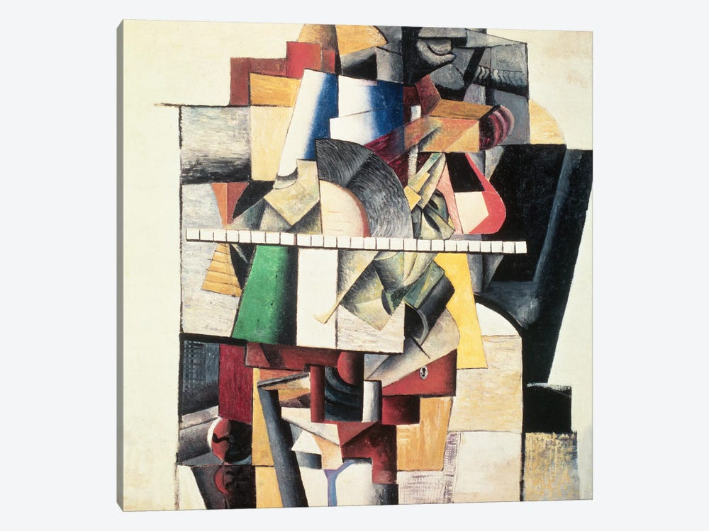 M. Matuischin  by Kazimir Severinovich Malevich 1-piece Canvas Print