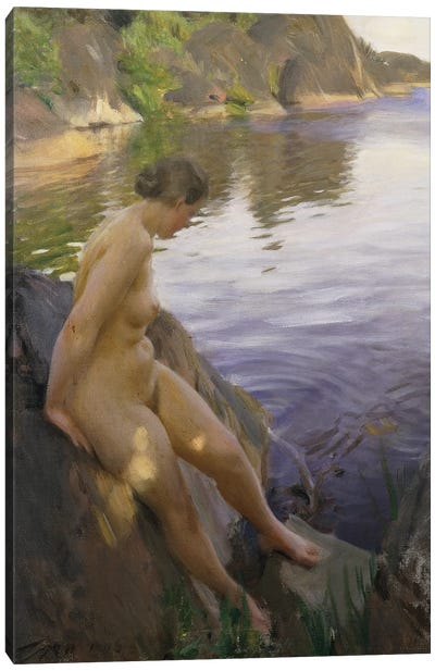 From Sandham; Fran Sandham, 1906  Canvas Art Print