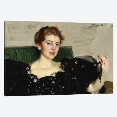 Lucy Turner Joy, 1897  Canvas Print #BMN8774} by Anders Leonard Zorn Canvas Print