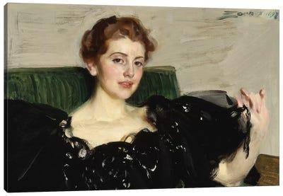 Lucy Turner Joy, 1897  Canvas Art Print