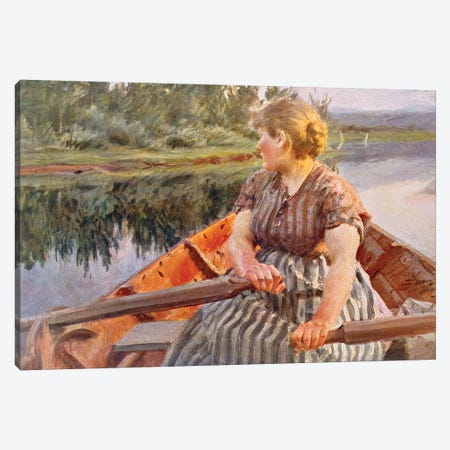 Midsummer Night, 1939  Canvas Print #BMN8775} by Anders Leonard Zorn Canvas Print