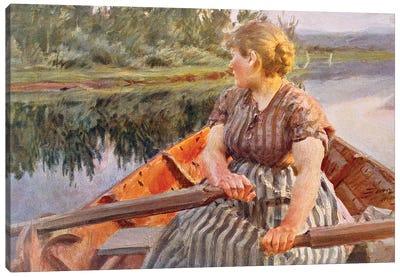 Midsummer Night, 1939  Canvas Art Print
