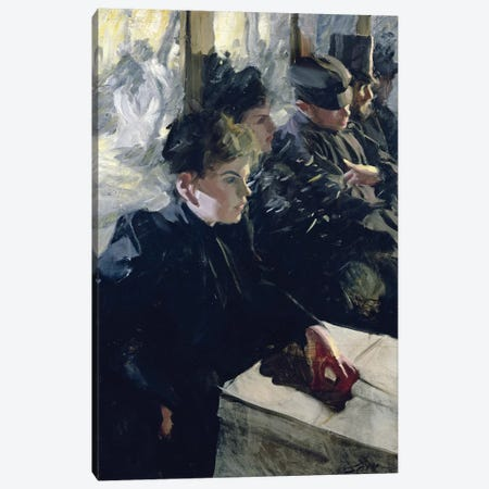 Omnibus I, 1895  Canvas Print #BMN8776} by Anders Leonard Zorn Canvas Print