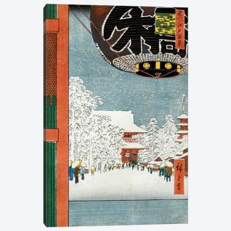 Kinryuzan Temple at Asakusa Canvas Print #BMN8784} by Utagawa Hiroshige Canvas Artwork