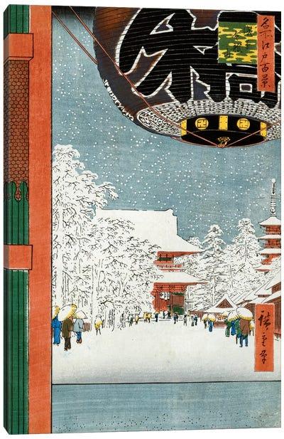 Kinryuzan Temple at Asakusa Canvas Art Print