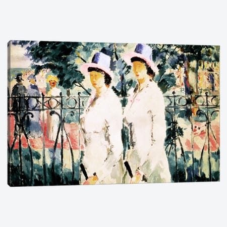 The Sisters Canvas Print #BMN878} by Kazimir Severinovich Malevich Canvas Art Print