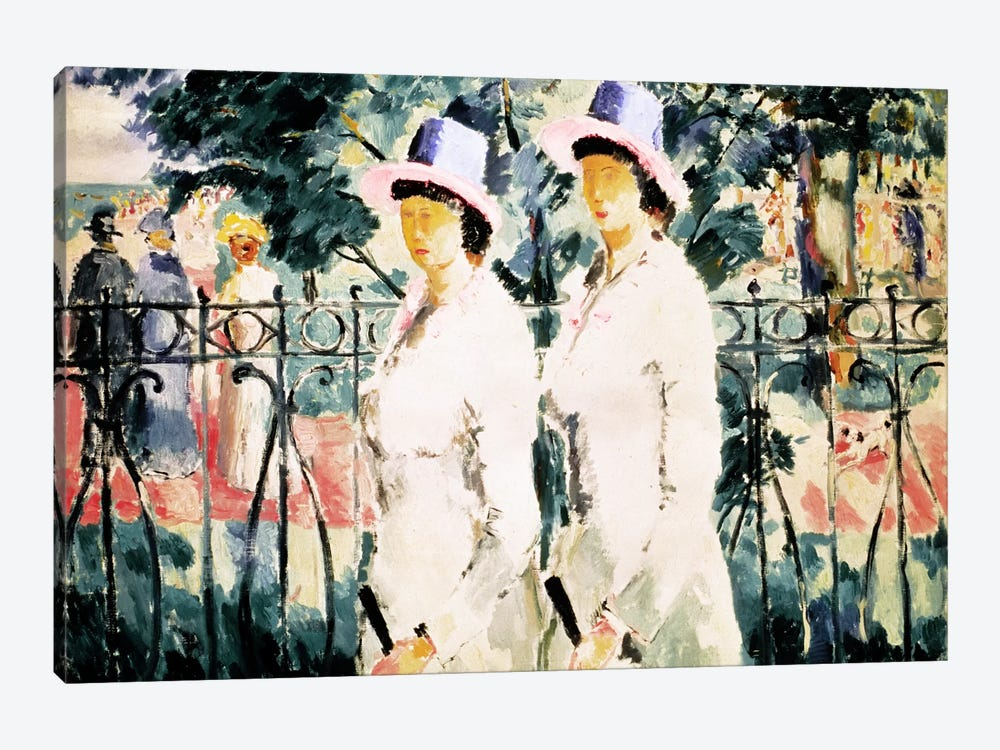 The Sisters by Kazimir Malevich 1-piece Canvas Art Print