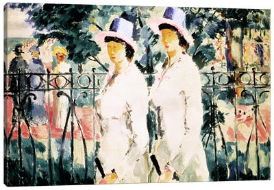 The Sisters Canvas Art Print
