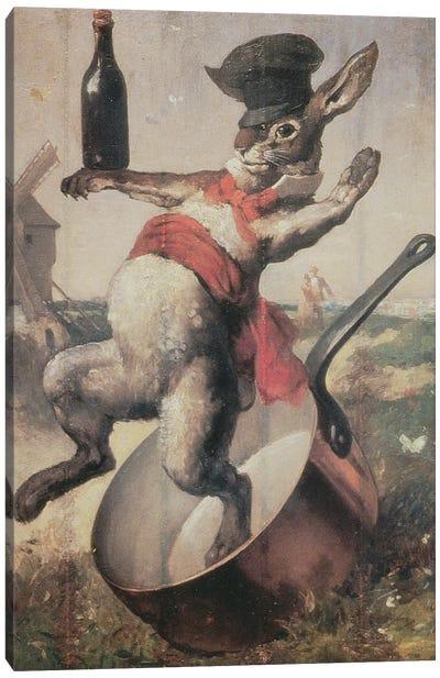 "Sign of the Cabaret ""Au Lapin Agile"", 1875  Canvas Art Print"