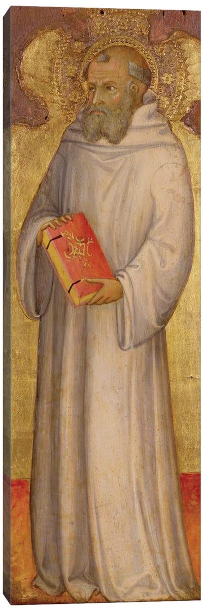 St. Benedict, Founder of Oldest Order  Canvas Art Print