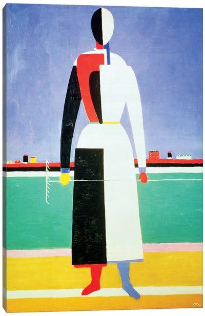 Woman With A Rake, c.1928-32  Canvas Art Print