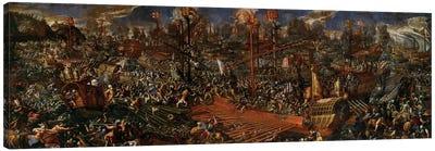 The Battle of Lepanto  Canvas Art Print
