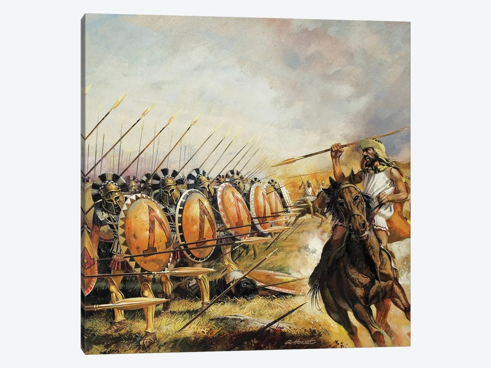 Spartan Army by Andrew Howat 1-piece Art Print