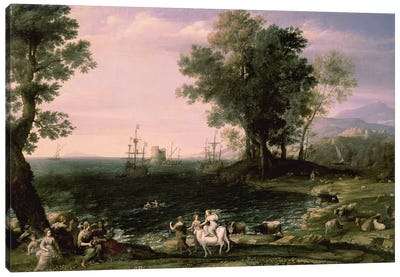 The Rape of Europa, 1655 Canvas Art Print