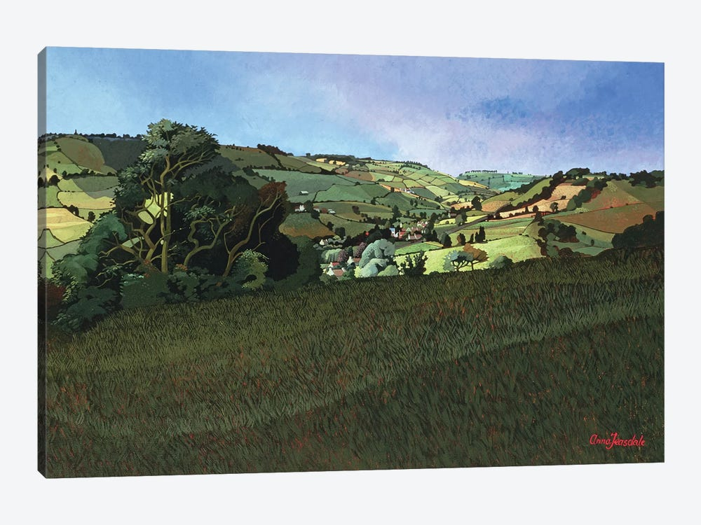 From Solsbury Hill  by Anna Teasdale 1-piece Canvas Wall Art