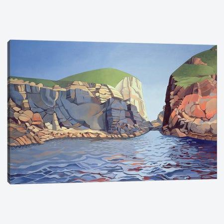 Land and Sea No. I, Ramsey Island  Canvas Print #BMN8820} by Anna Teasdale Canvas Wall Art