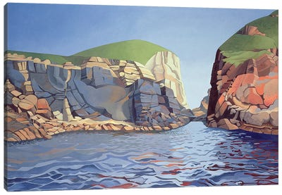 Land and Sea No. I, Ramsey Island  Canvas Art Print
