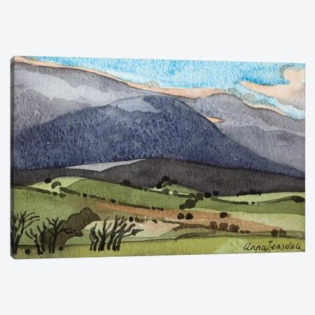 Snowdonia, 1908  Canvas Print #BMN8822} by Anna Teasdale Canvas Art