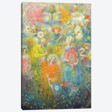 Daydream - after the music of Max Reger Canvas Print #BMN8827} by Annael Anelia Pavlova Art Print