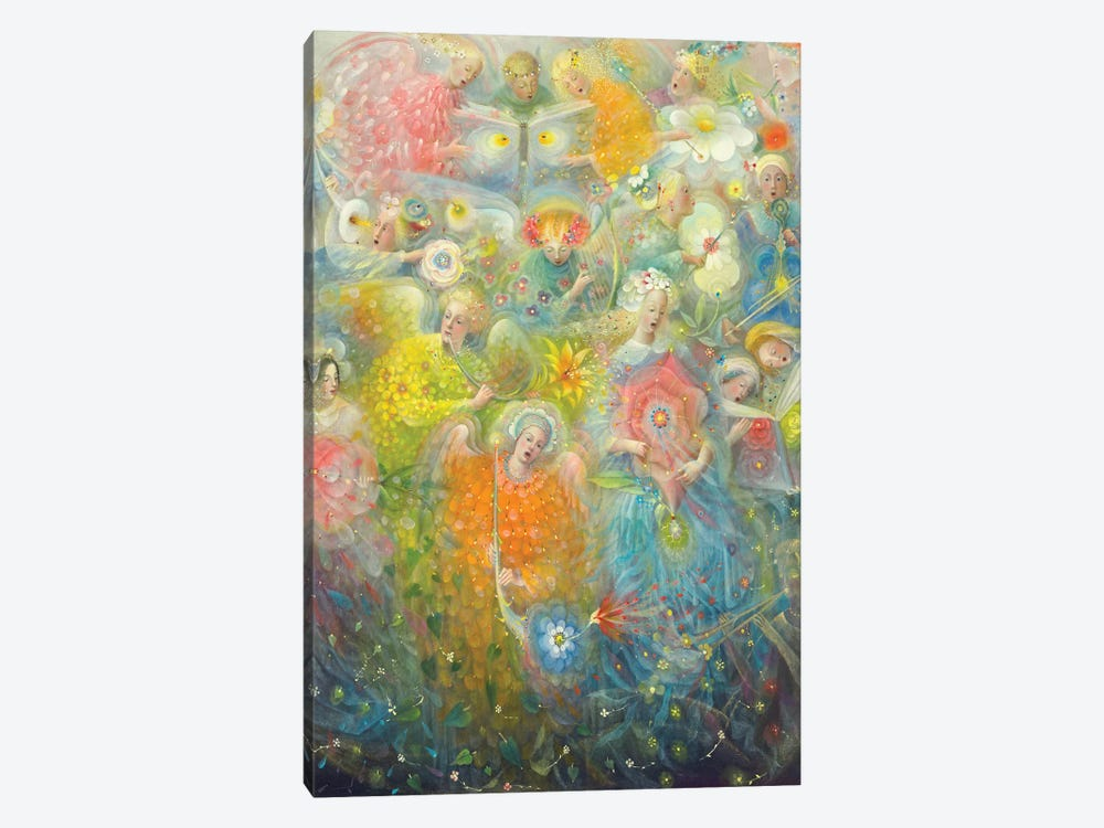 Daydream - after the music of Max Reger by Annael Anelia Pavlova 1-piece Canvas Wall Art