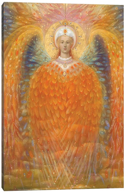 The Angel of Justice Canvas Art Print