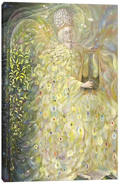 The Angel of Wisdom Canvas Art Print