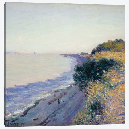 Bristol Channel, Evening, 1897  Canvas Print #BMN8838} by Alfred Sisley Art Print