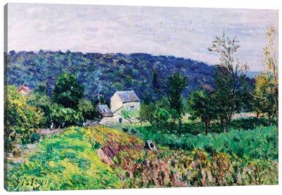 Hills Surrounding Paris, 1879  Canvas Art Print