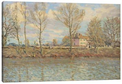 L'Ile de la Grande Jatte, Neuilly-sur-Seine, 1873  Canvas Art Print